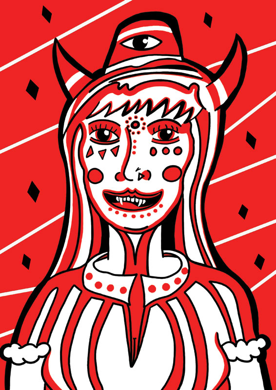 Illustration_Devil_Woman