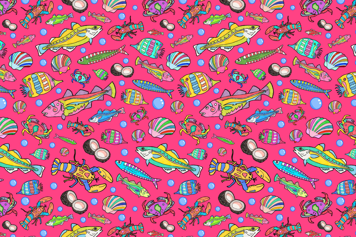 Illustration_Fish_Pattern