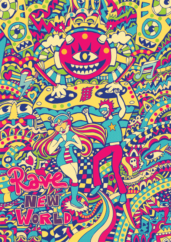 Illustration_Rave_New_World