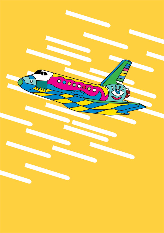 Illustration_Yellow_Shuttle