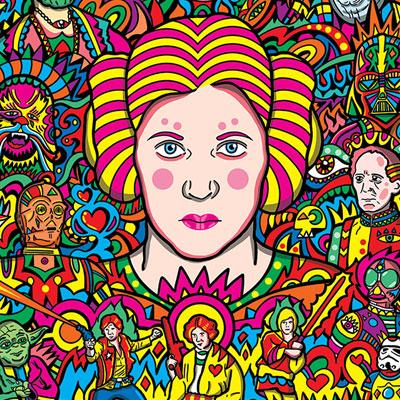 Princess Leia Illustration