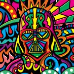 Disco Darth Illustration By Manic Minotaur!