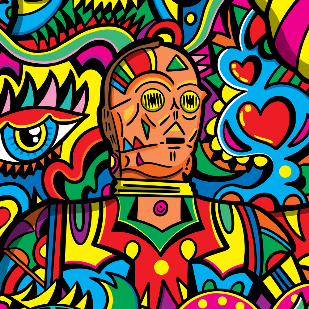 We Love Pop Love Songs Illustration By Manic Minotaur!