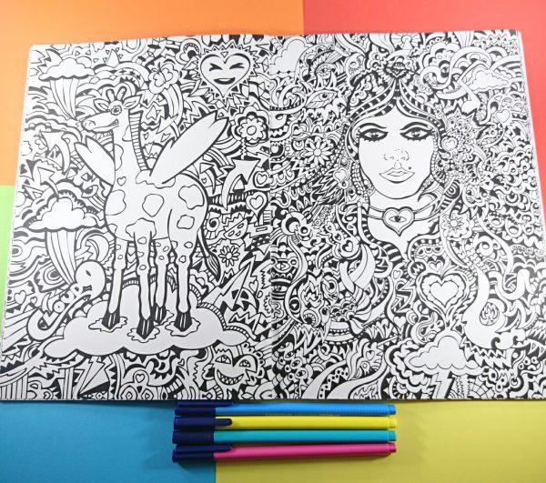 Manic_Minotaur_Colouring_Book