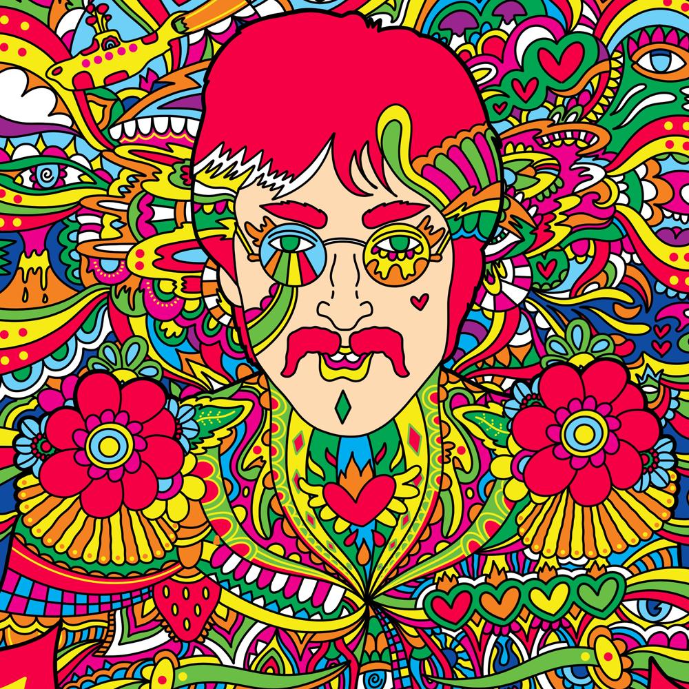 John Lennon Illustration By Manic Minotaur!
